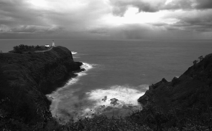 Kilauea Photograph - Kilauea Lighthouse I by Maxwell Amaro