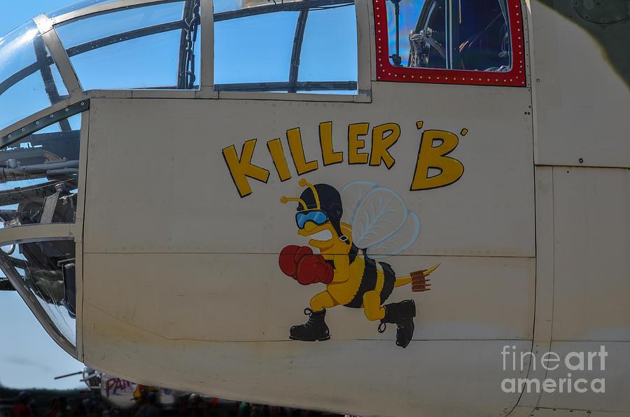 Killer B Photograph - Killer B by Dale Powell