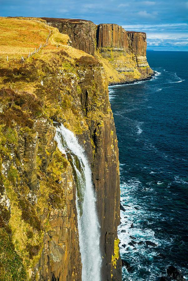 Isle Of Skye Photograph - Kilt Rock Isle Of Skye by David Ross