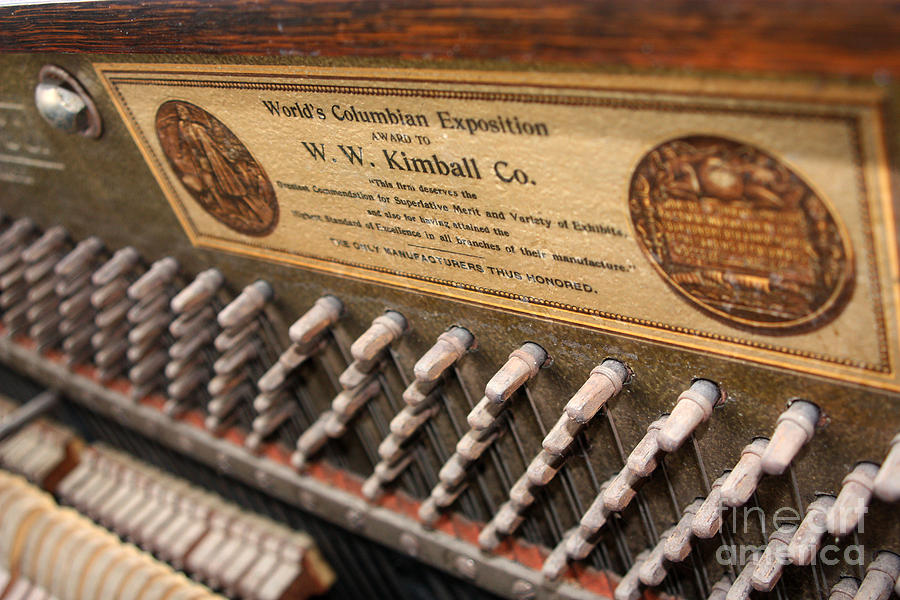 Kimball Photograph - Kimball Piano-3476 by Gary Gingrich Galleries