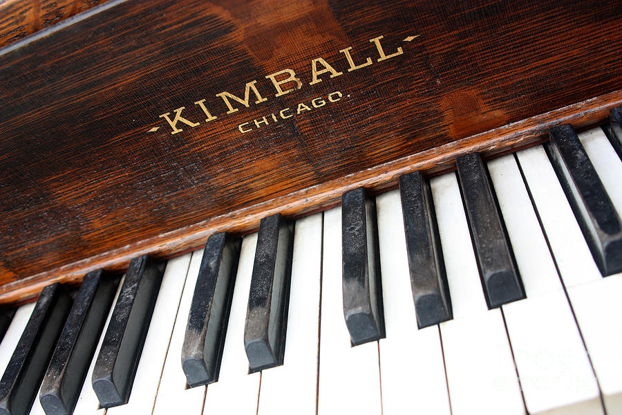 Kimball Photograph - Kimball Piano-3479 by Gary Gingrich Galleries