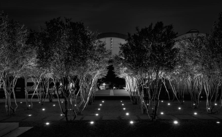Joan Carroll Photograph - Kimbell After Dark by Joan Carroll