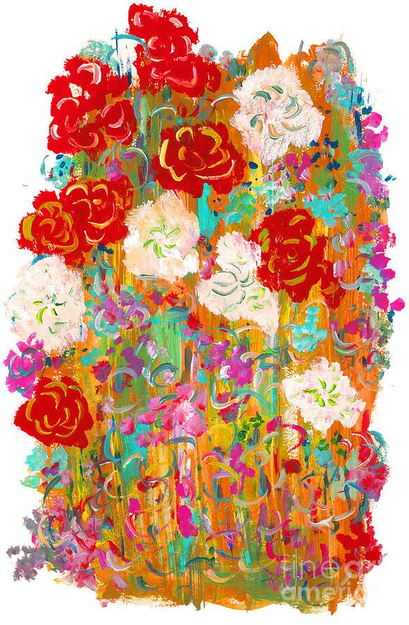 Contemporary Painting - Kimono by Bjorn Sjogren