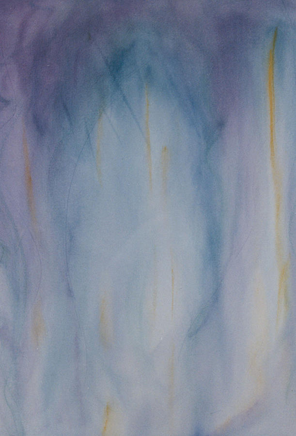 Jazz Painting - Kinda Blue by Phoenix Simpson