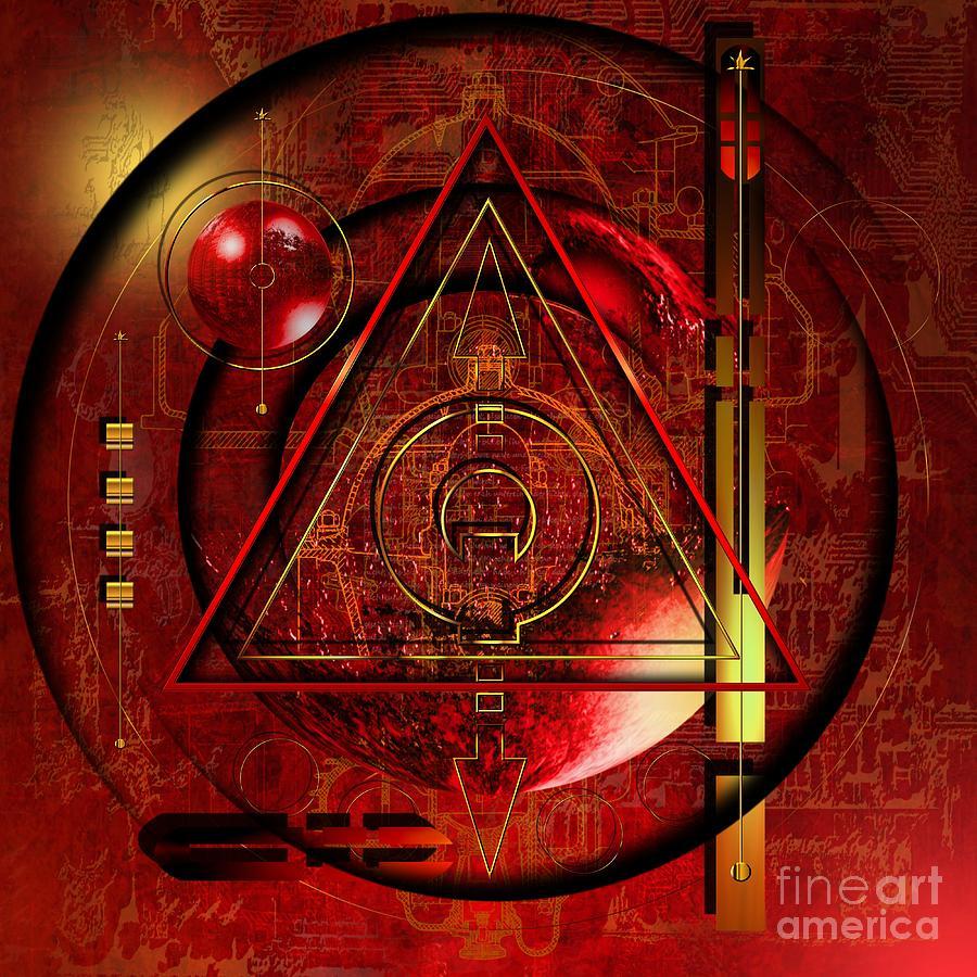 Highly Imaginative Digital Art - King Crimson by Franziskus Pfleghart