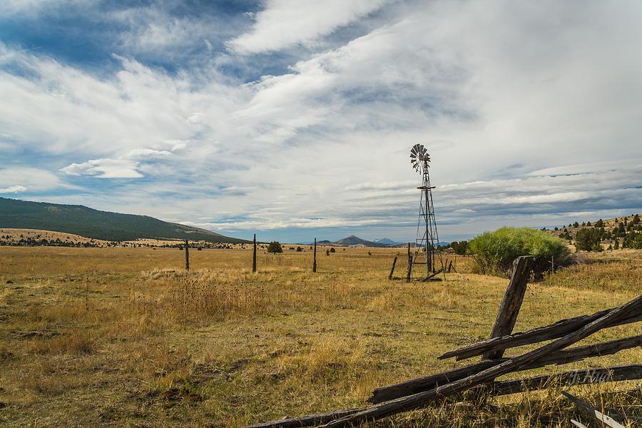 Landscape Photograph - King Homestead Windmill by Joe Hudspeth