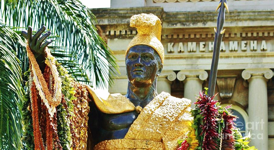 Honolulu Photograph - King Kamehameha The First by Craig Wood