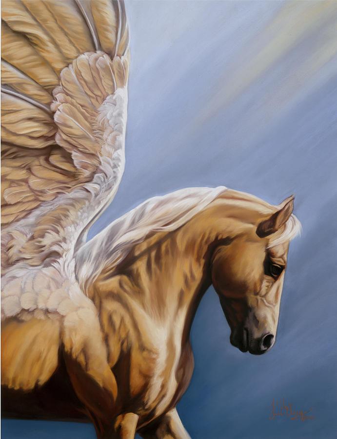 Pegasus Pastel - King Midas by Kim McElroy