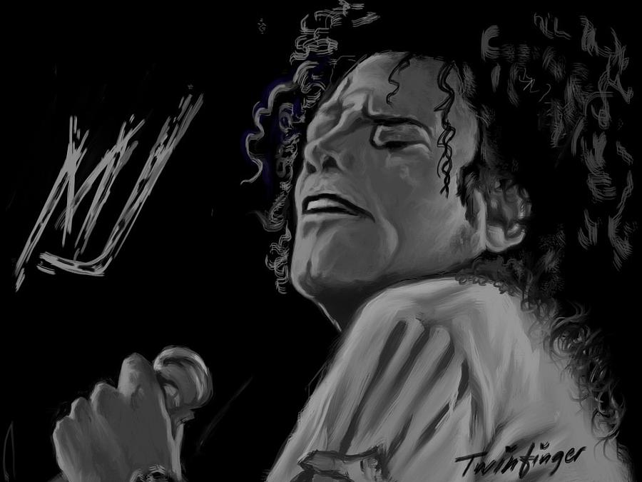 Michael Jackson Painting - King Of Pop by Twinfinger