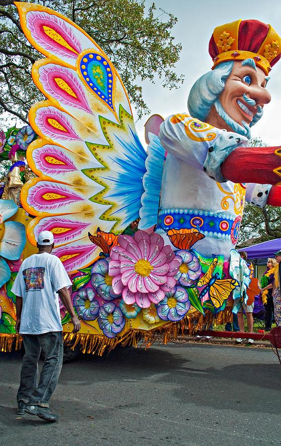 New Orleans Photograph - King Of The Butterflies by Steve Harrington