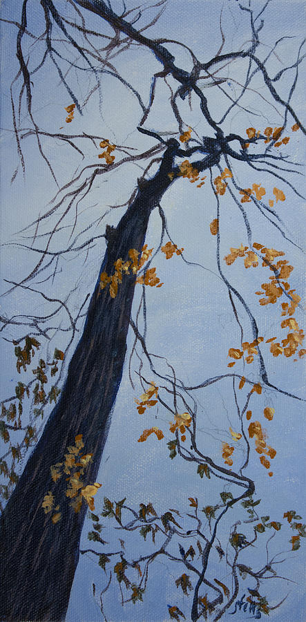Tree Painting - King Of The Forest by Janet Felts