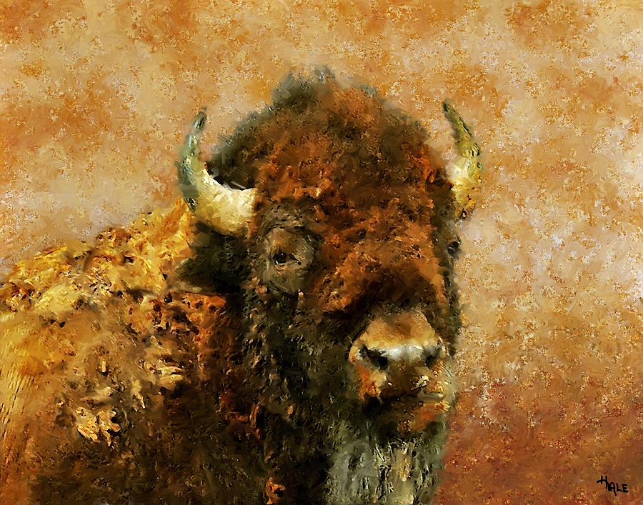 Southwest Painting - King Of The Plains by Roger D Hale