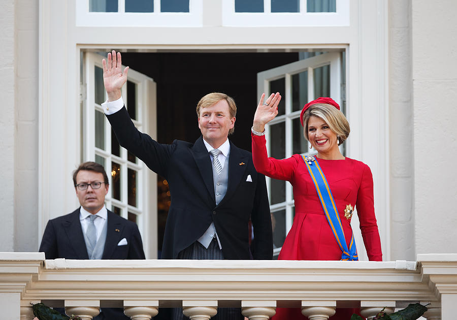 King Willem-Alexander Addresses His Government On Budget Day Photograph by Jasper Juinen
