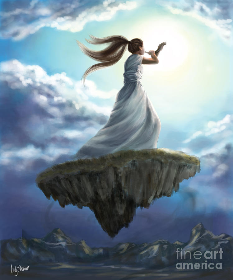 Prophetic Art Painting - Kingdom Call by Tamer and Cindy Elsharouni