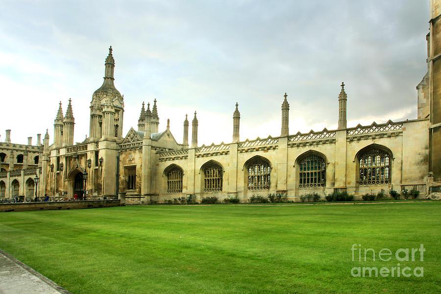 King's College Facade by Eden Baed