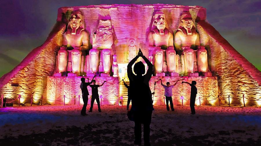 Egypt Photograph - Kings Of Egypt by Ian Gledhill