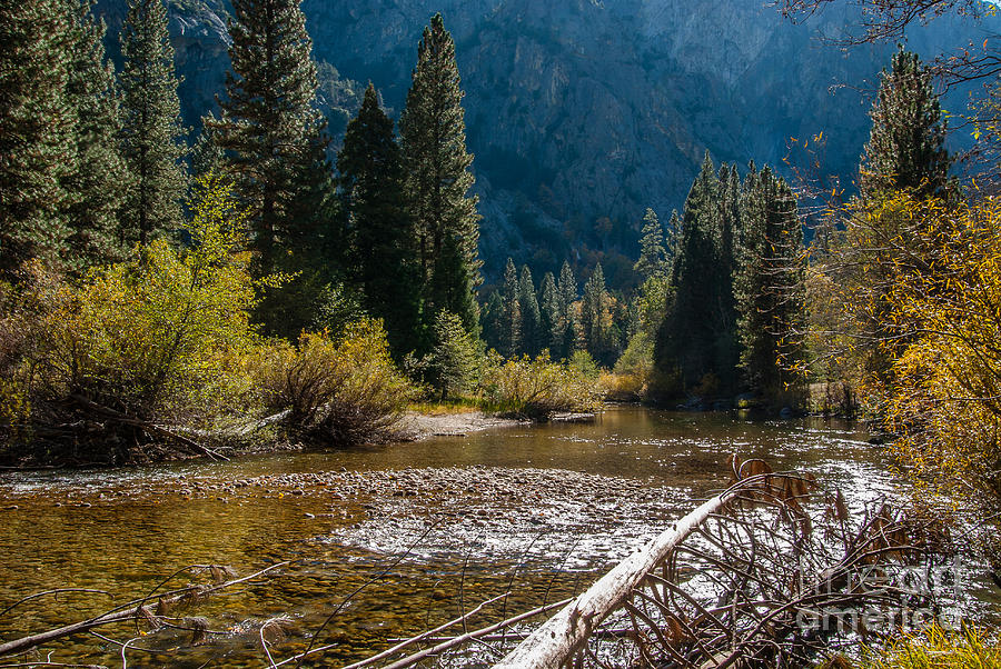Kings River Photograph - Kings River 1-7810 by Stephen Parker