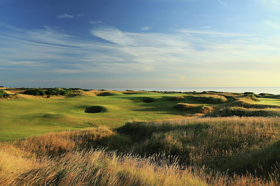 Kingsbarns Golf Links Photograph by David Cannon