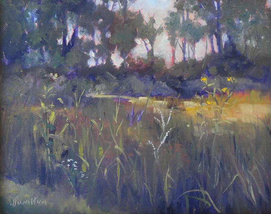 Kingwood Center Painting - Kingwood Prairie by Judy Fischer Walton