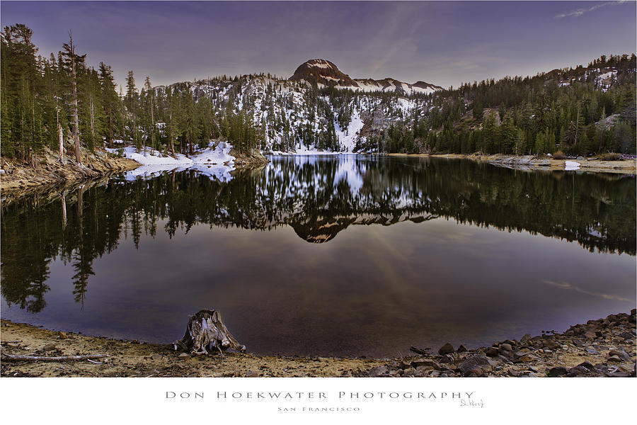 Kinney Photograph - Kinney Reservoir by PhotoWorks By Don Hoekwater