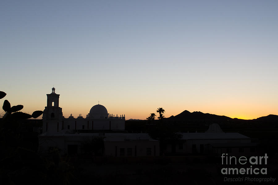 San Xavier Mission Photograph - Kinos Arizona Glory by Patty Descalzi