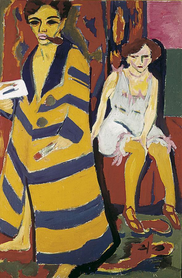 Vertical Photograph - Kirchner, Ernst Ludwig 1880-1938 by Everett