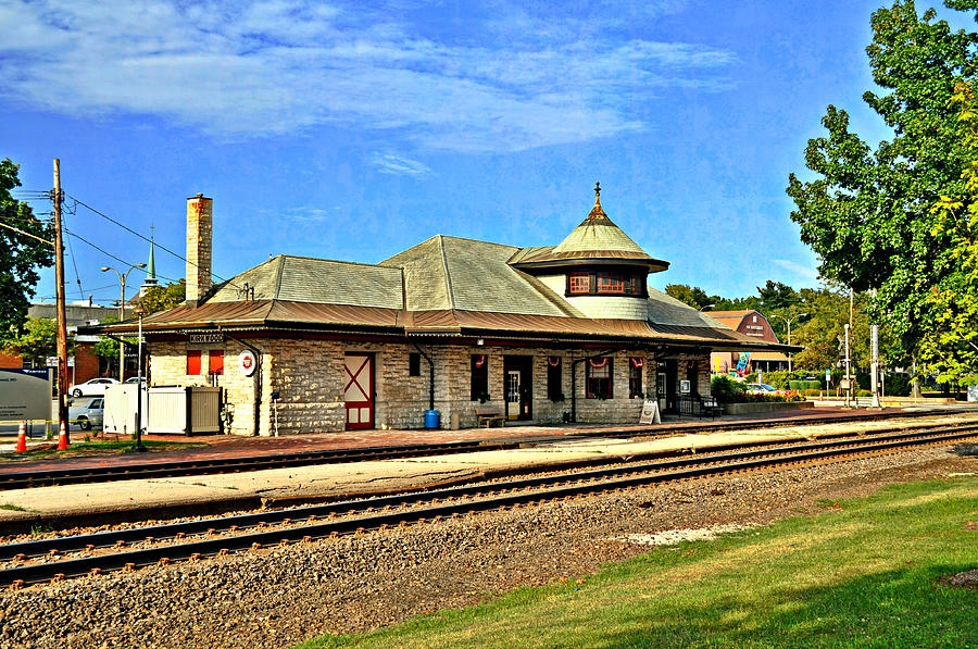 Train Photograph - Kirkwood Station by Marty Koch
