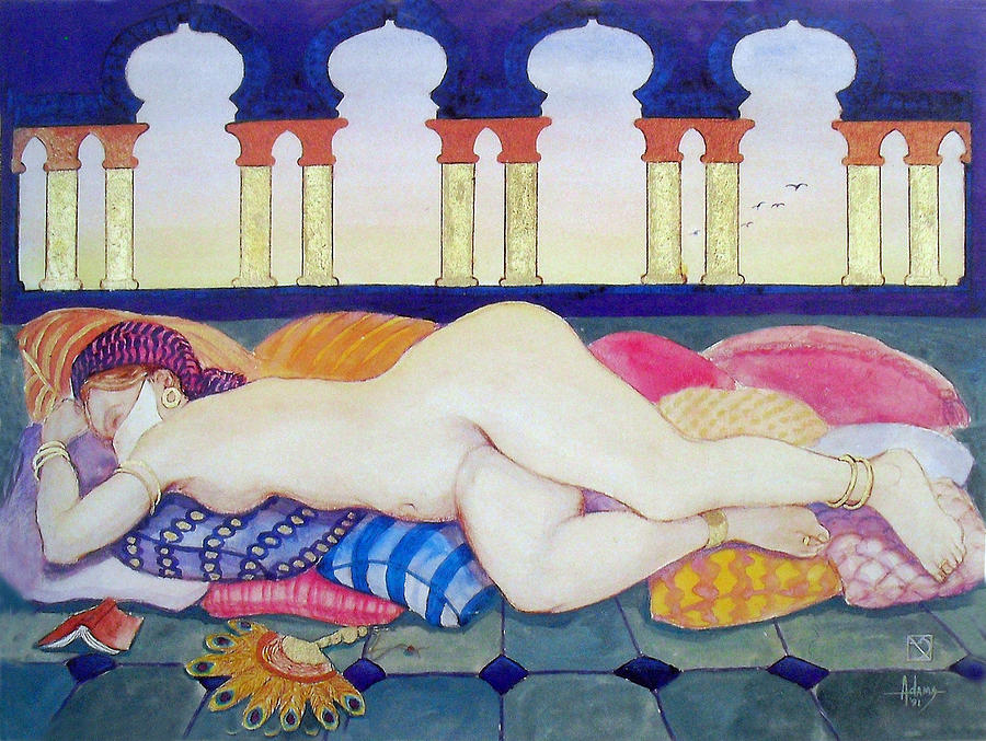Harem Painting - Kismet by Jack Adams