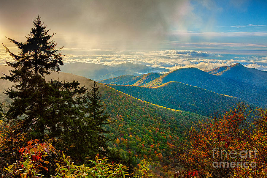 Blue Ridge Mountains I Photograph By