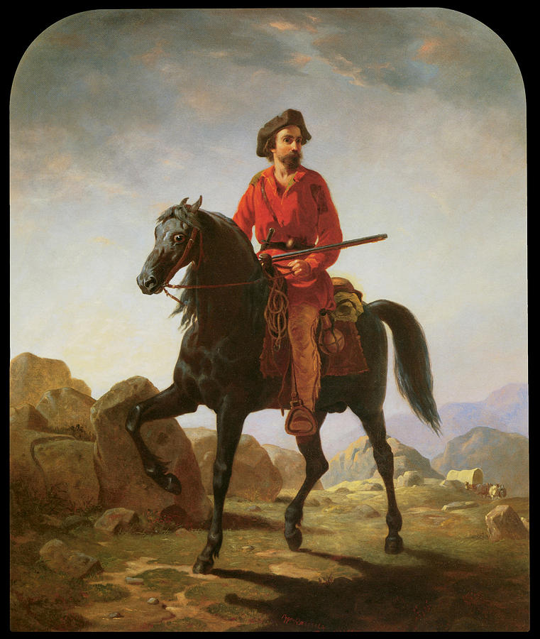 Kit Carson Painting - Kit Carson by William Tylee Ranney