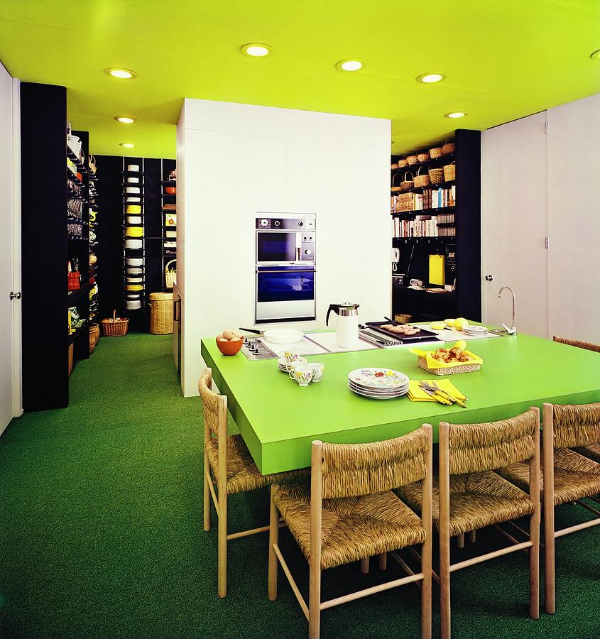 Kitchen Built By Formica Corporation Photograph By Tom Yee