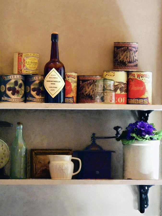 Pantry Photograph - Kitchen Pantry by Susan Savad