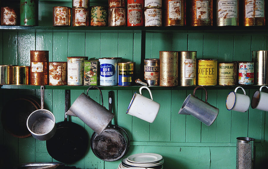 Kitchen Shelves In Museum At British Photograph by Richard Ianson