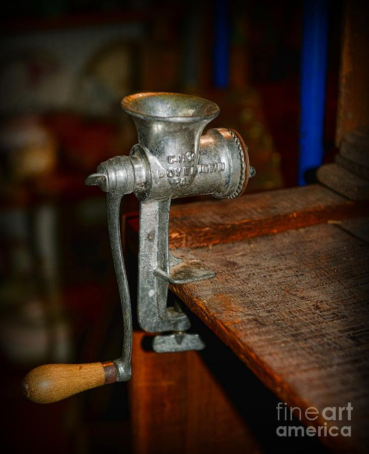 Kitchen Art America Inc: The Meat Grinder Photograph By Paul Ward