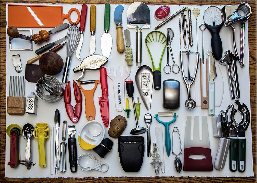 Kitchen Tools Photograph by Jill Clardy