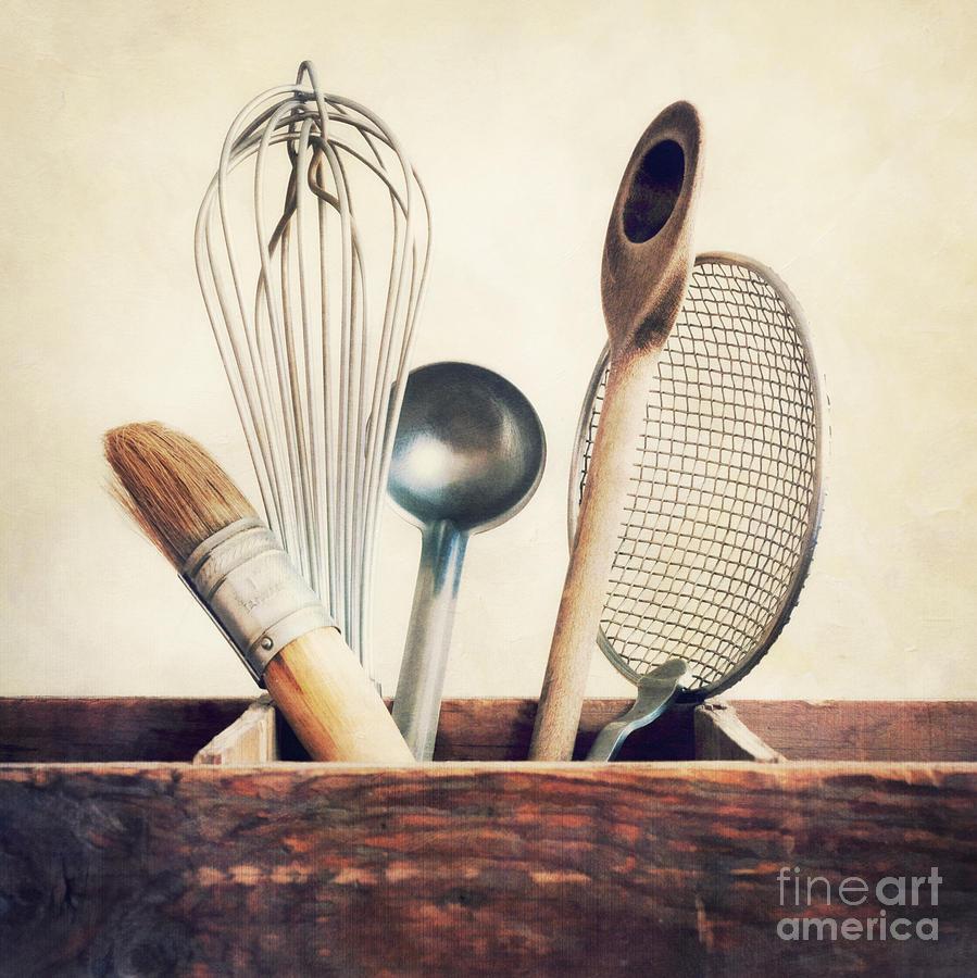 Cook Photograph - Kitchenware by Priska Wettstein