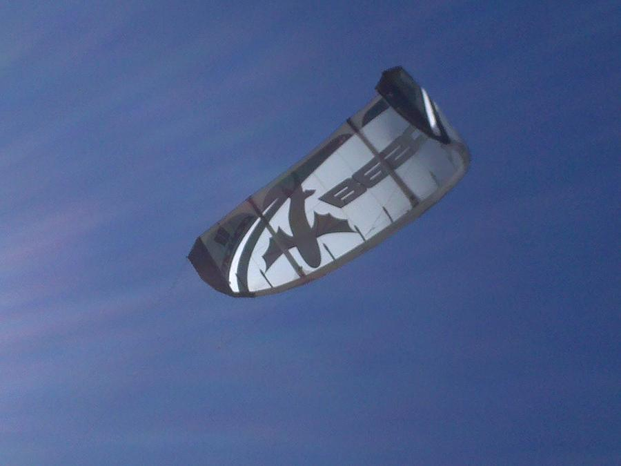 Kite Photograph - Kite Surfing 2 by Heather L Wright