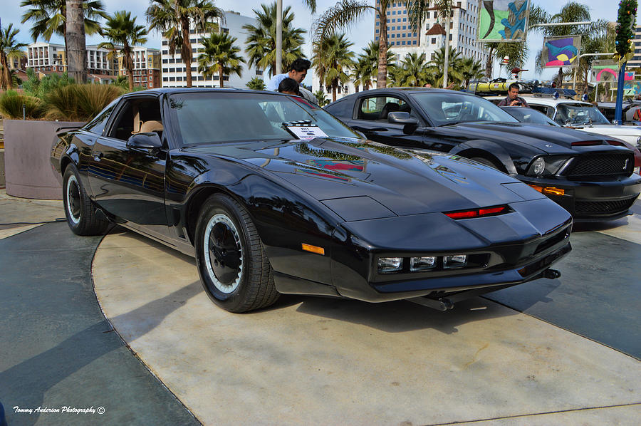 Knight Rider Photograph - Kitt by Tommy Anderson