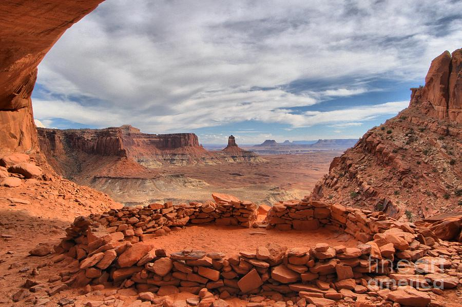 Canyonlands Photograph - Kiva Canyon by Adam Jewell