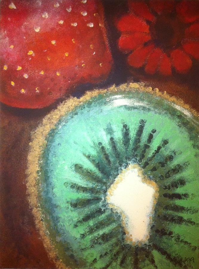 Kiwi Painting - Kiwi by Corbin Runnels