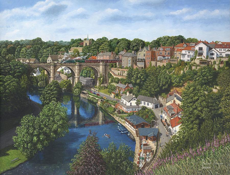 Knaresborough Yorkshire Painting