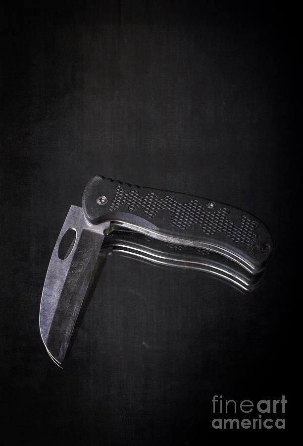 Knife Blade Photograph