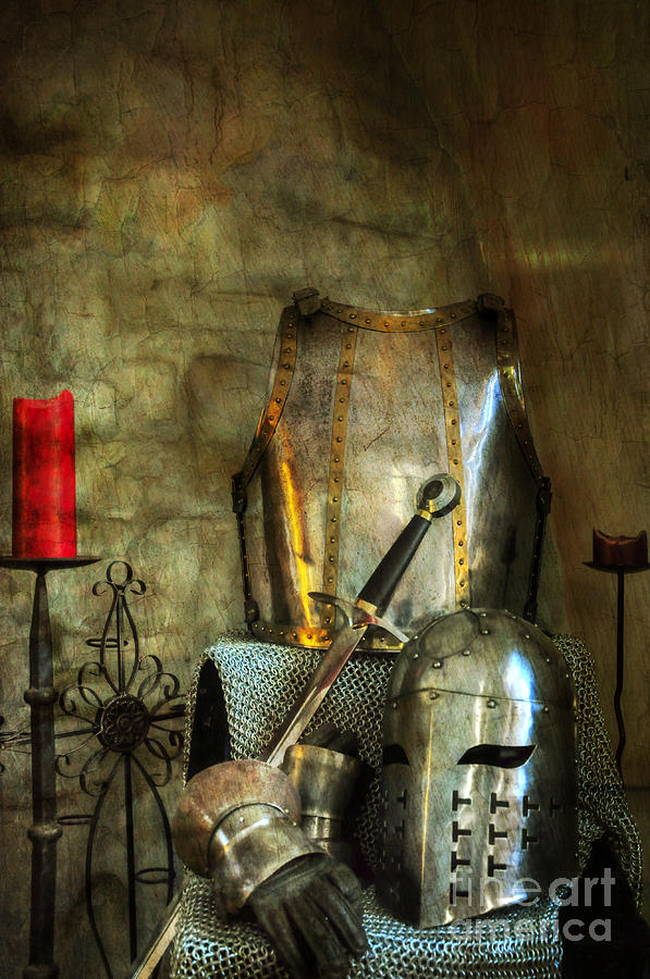Medieval Photograph - Knight - A Warriors Tribute  by Paul Ward