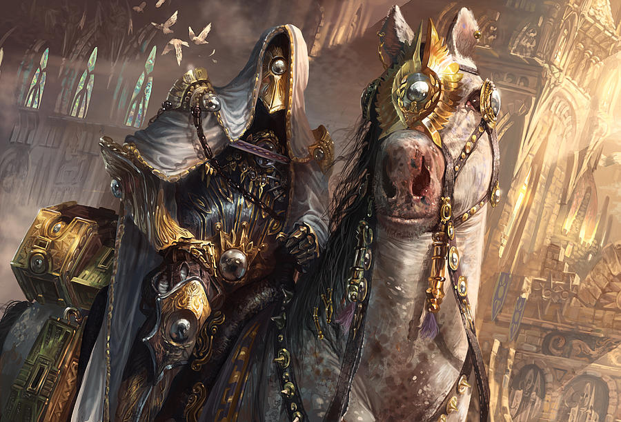 Magic The Gathering Digital Art - Knight Of Obligation by Ryan Barger