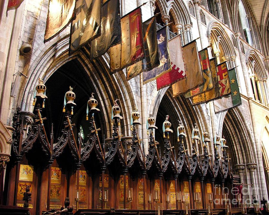 Dublin Photograph - Knights Of St. Patrick 2 by Mel Steinhauer