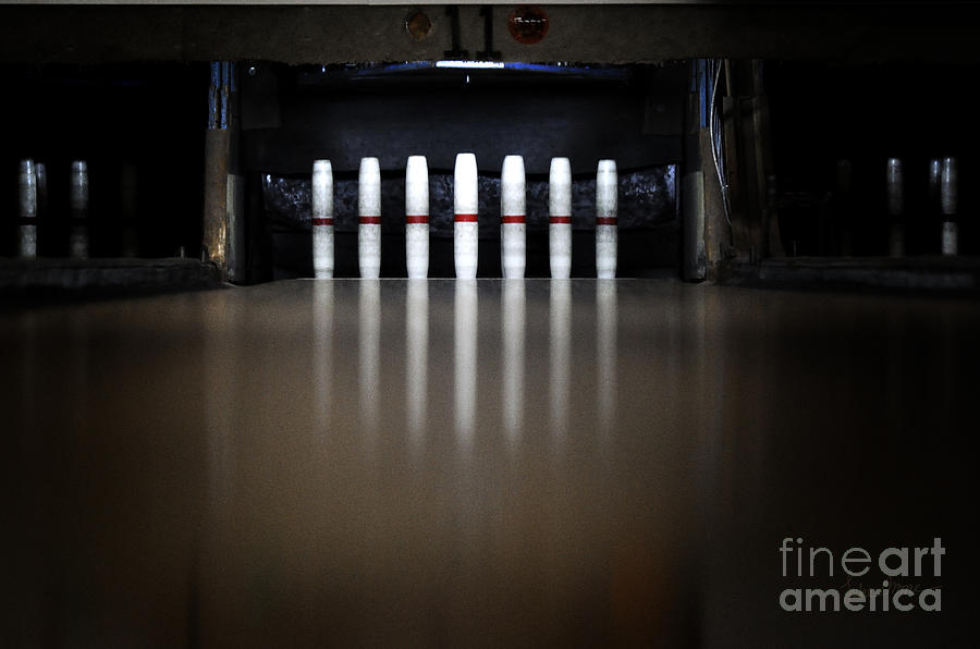 Bowling Photograph - Knock Em Down by Luke Moore