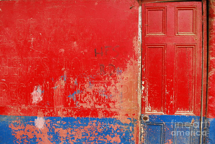 Door Photograph - Knock Knock by Susan Hernandez