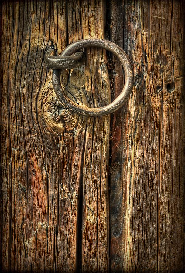 Knock On Wood Photograph
