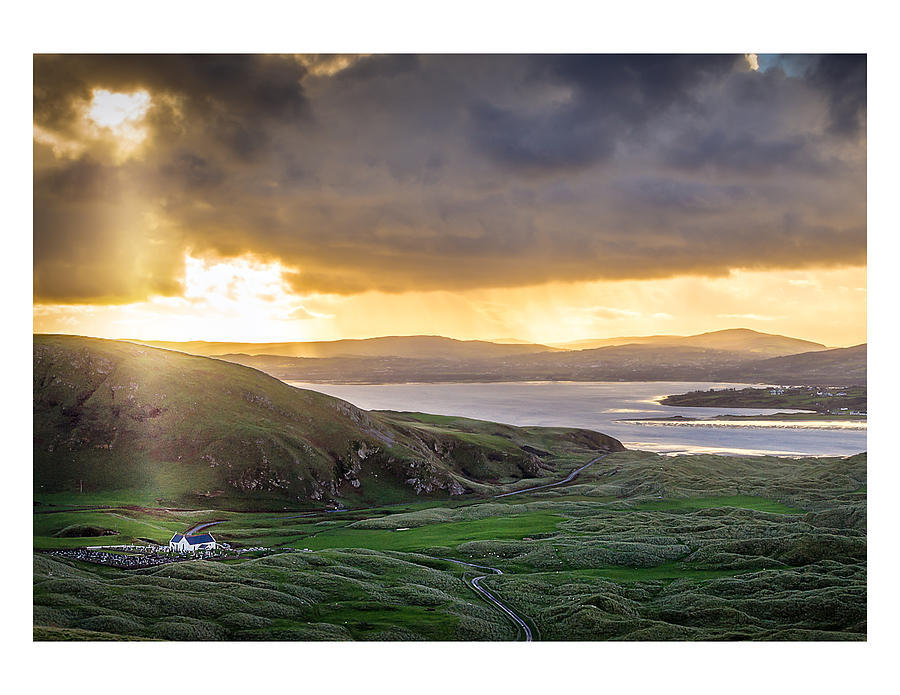 Sun Photograph - Knockamany Bends by Kevin Moore