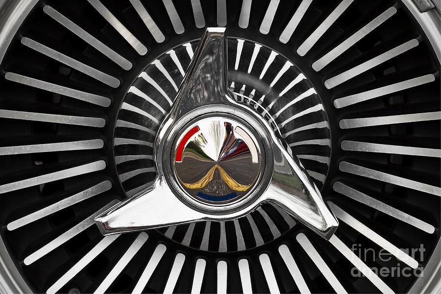1965 Chevrolet Corvette Photograph - Knockoff Wheel by Dennis Hedberg